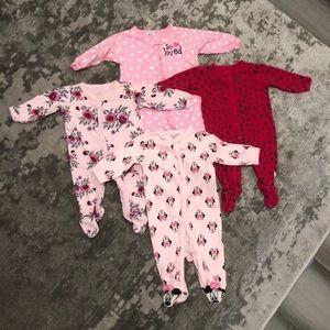 3-6 Month Footie Pajama Bundle Size: 3-6 Months